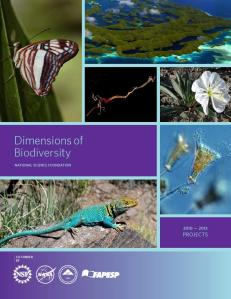 DEB's Dimensions of Biodiversty 2010-2013 abstract book cover.