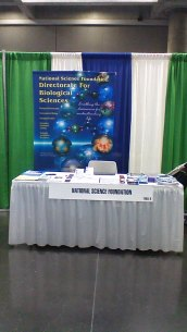 "Our ESA 2014 Table. Stop by and say ""hi."""